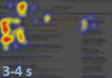 La tendance s'accentue. Certains internautes poursuivent la découverte des résultats centraux. D'autres reviennent vers le champ de recherche.